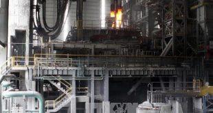 Một góc nhà máy Pomina 3 sản xuất phôi thép. Ảnh: Hoàng Hải-TTXVN